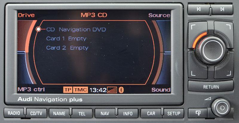 a4 rns e navigation system satnav systems rh satnavsystems com