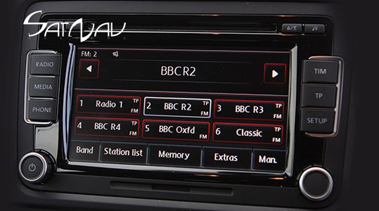 vw rcd 310 radio satnav systems. Black Bedroom Furniture Sets. Home Design Ideas