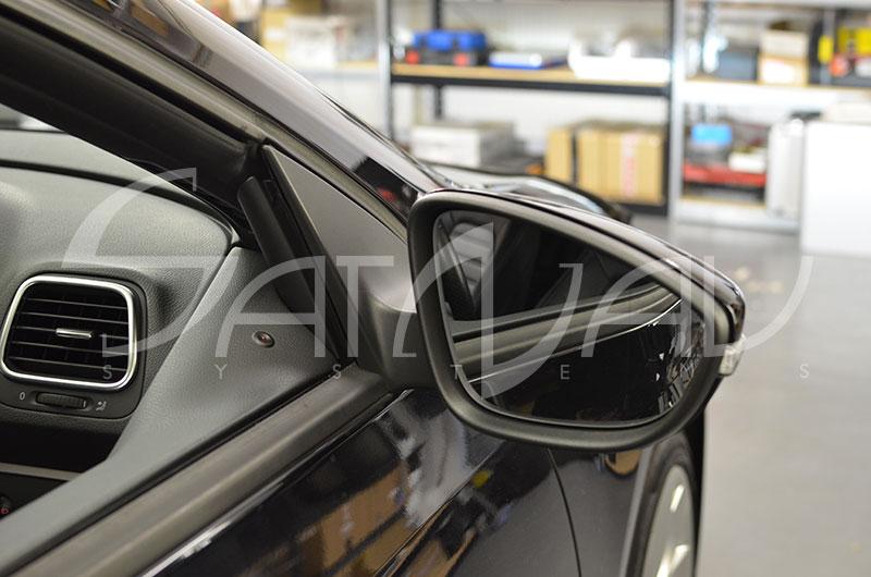 Vw Power Folding Mirrors Satnav Systems