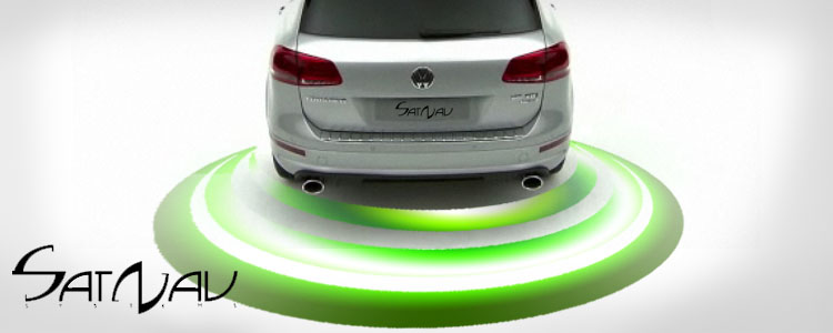acoustic parking sensors satnav systems