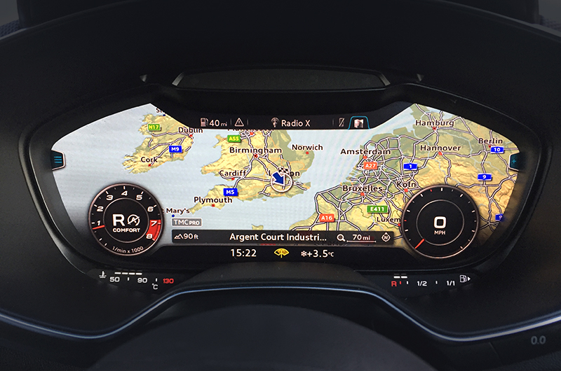 Audi Tt Mk3 Navigation System Upgrade Satnav Systems