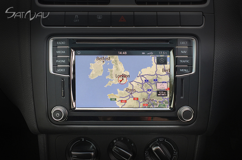 vw discover media pq navigation system satnav systems. Black Bedroom Furniture Sets. Home Design Ideas