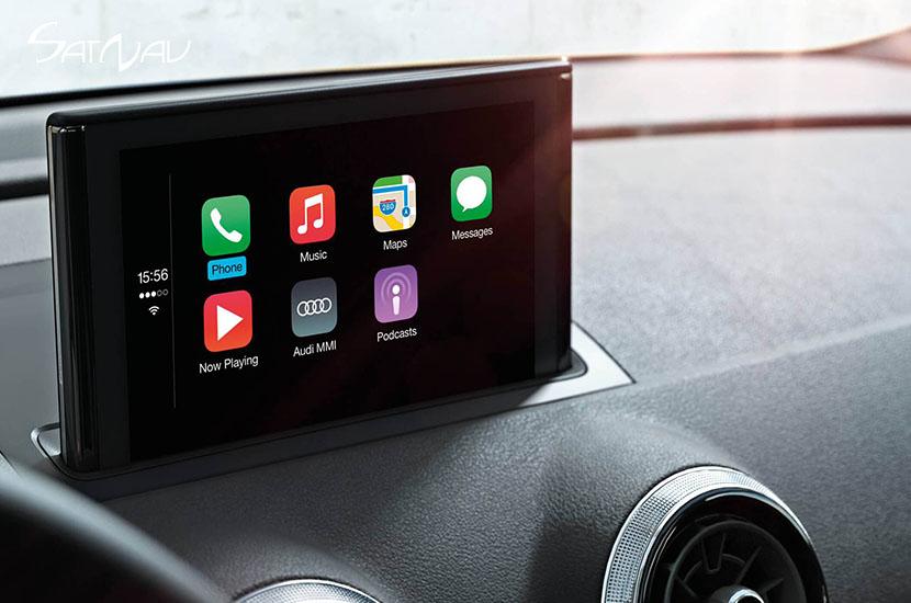 audi smartphone interface satnav systems. Black Bedroom Furniture Sets. Home Design Ideas