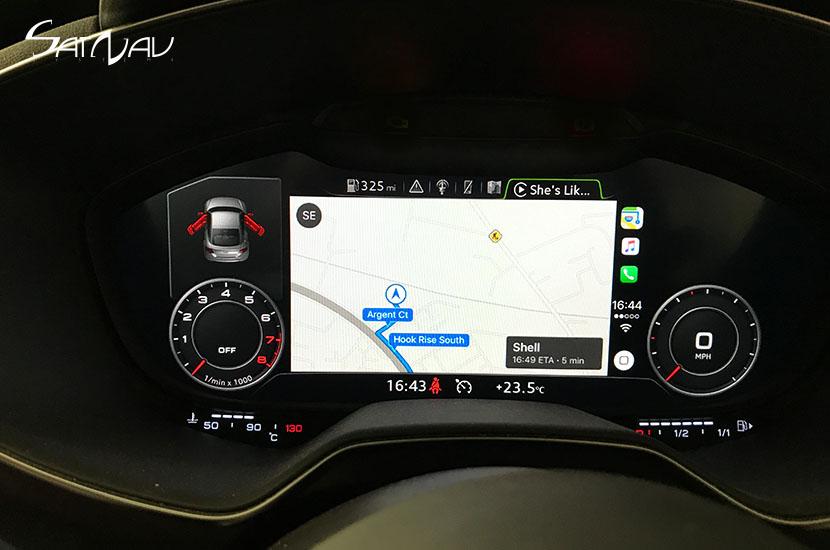 Audi Smartphone Interface Satnav Systems