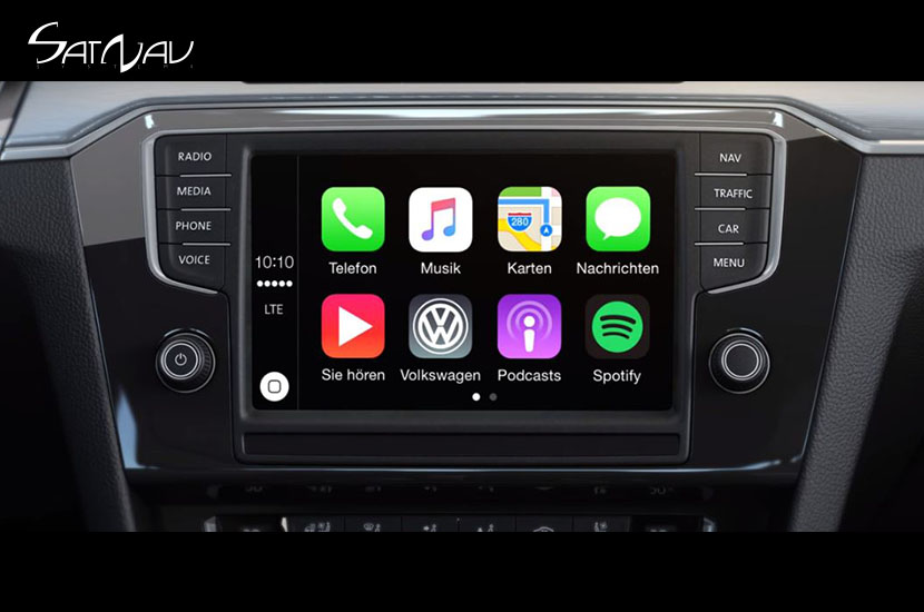 vw app connect upgrade satnav systems. Black Bedroom Furniture Sets. Home Design Ideas