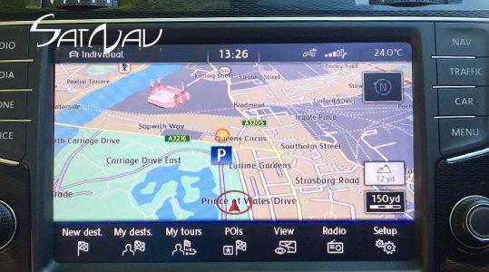 VW Discover PRO Navigation Upgrade