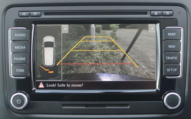 VW Scirocco Reversing Camera | SatNav Systems