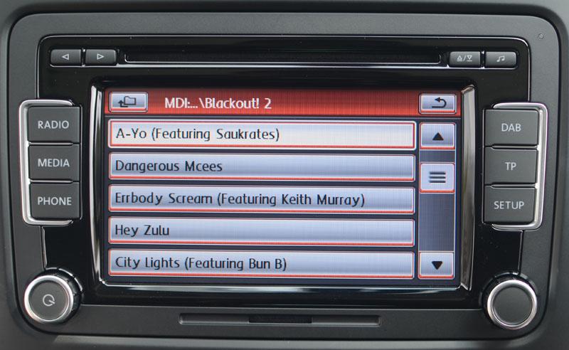 vw rcd  radio satnav systems