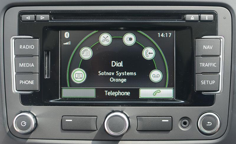 Vw Bluetooth Mobile Telephone Interface Satnav Systems