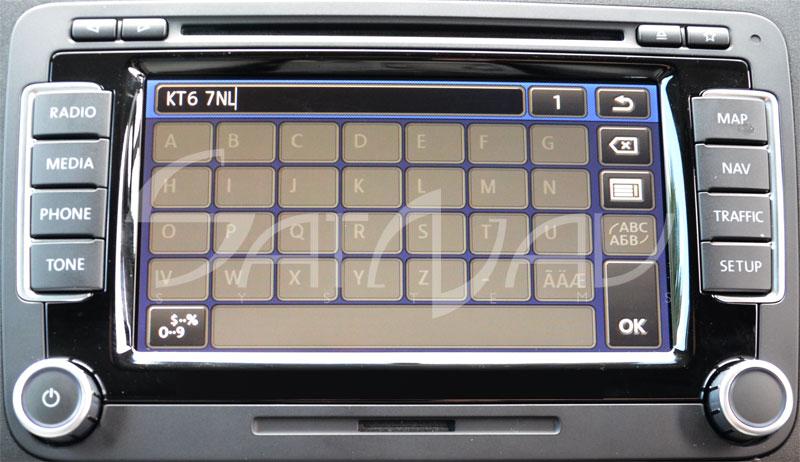 RNS 510 Full Postcode & Speed Cameras Upgrade