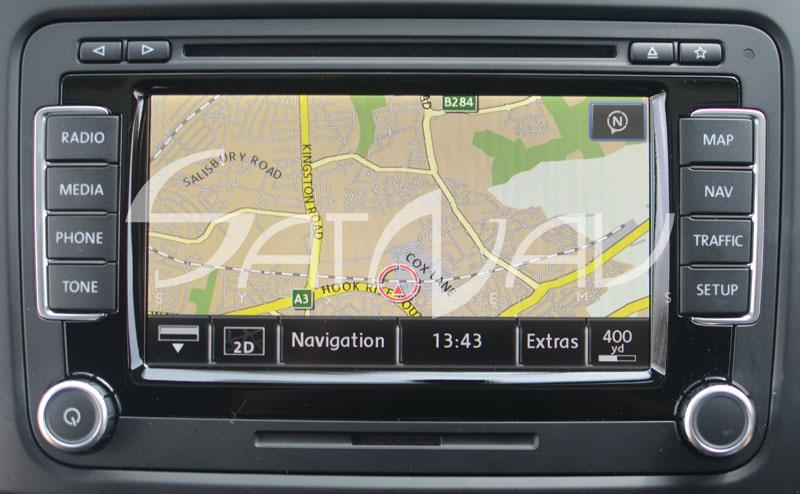 VW RNS-510 Navigation System | SatNav Systems