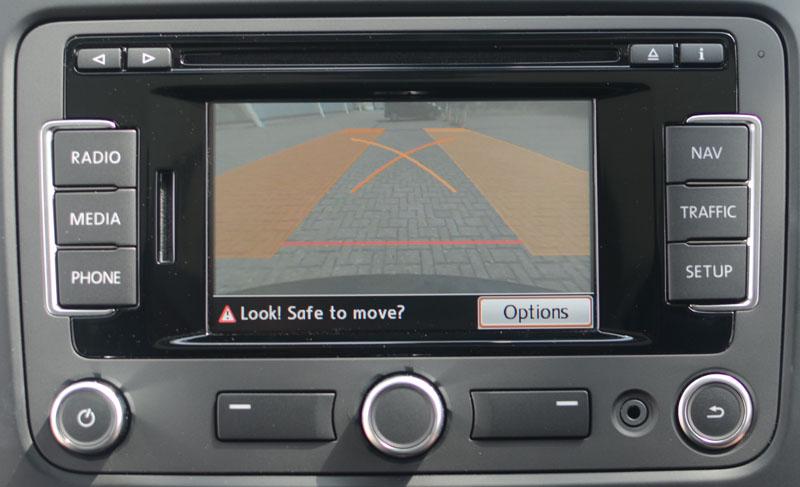 Parallel Parking Reversing Camera Optional Rns Navigation System