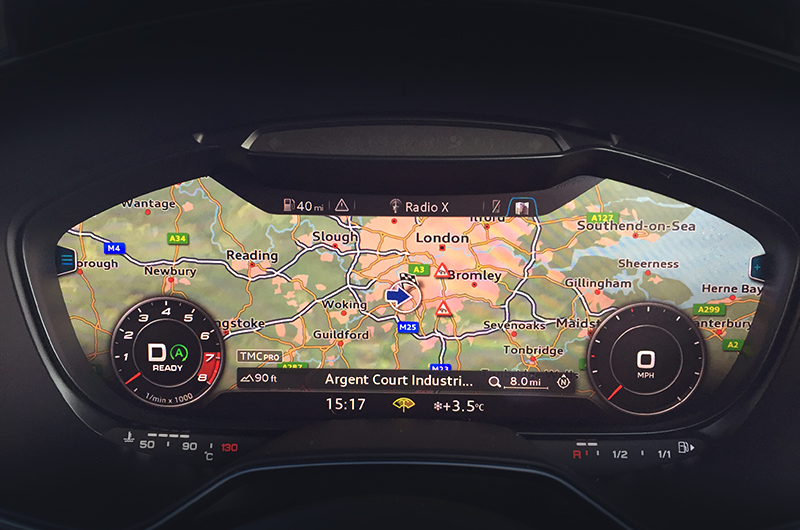 audi tt mk3 navigation system upgrade satnav systems. Black Bedroom Furniture Sets. Home Design Ideas