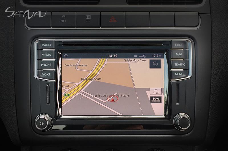 Vw Discover Media Pq Navigation System Satnav Systems