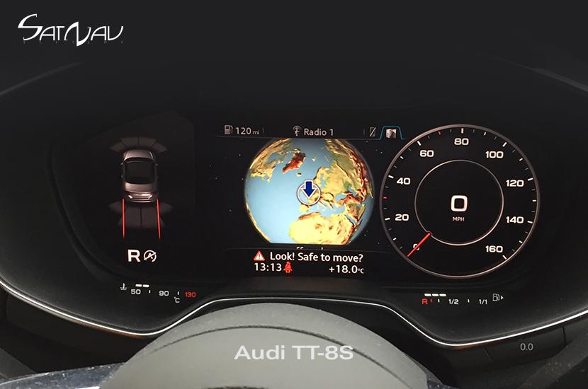 Audi Optical Parking Sensors