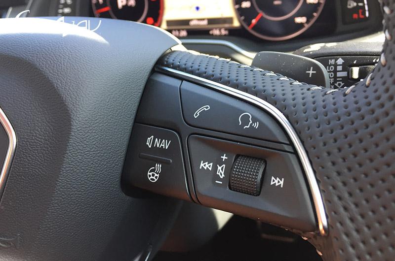 Audi Heated Steering Wheel