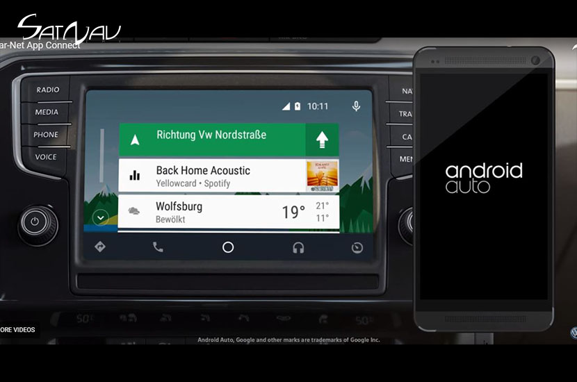 Android Auto Hack