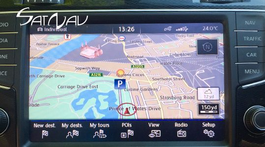 VW Discover PRO Navigation Upgrade