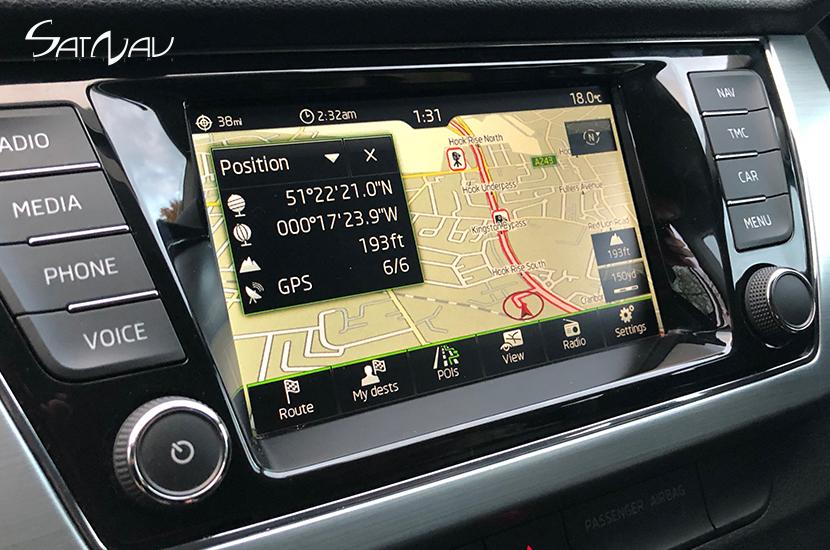Amundsen Touchscreen Navigation System