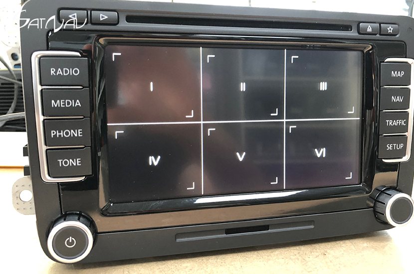 VW RNS-510 / Skoda Columbus Navigation Repair Service