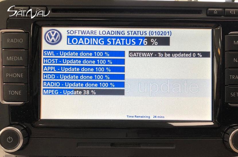 VW RNS-510 / Skoda Columbus Navigation Repair Service