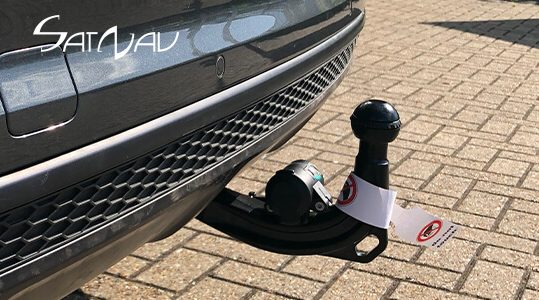 Audi Towbar (Trailer Towing Hitch) - electrically swivelling